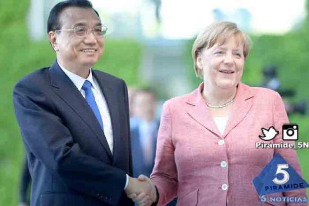 Piramide5N- Angela Merkel Liki