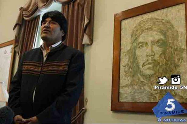 Piramide5N- Evo Morales Che 2