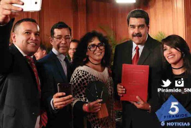 Piramide5N- Maduro Periodistas 2