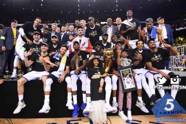 Piramide5N- NBA Wariors Champions 2