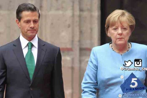 Piramide5N- Peña Nieto Merkel 3